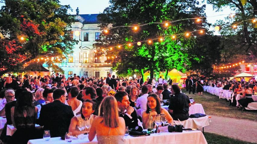 Das Erlanger Schlossgartenfest fällt auch 2021 aus. Geplant war die Freiluft-Veranstaltung im Schlossgarten für den 26. Juni.