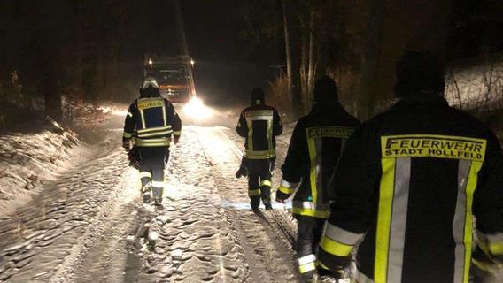Hollfelderin verirrte sich im Stadtwald: An B22 gefunden