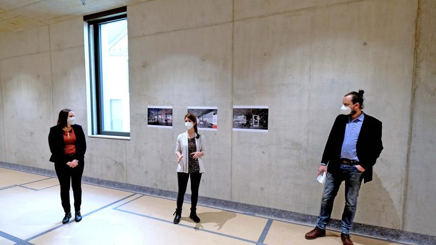 Auf Baustellenbesuch: Die Ausstellung des Zukunftsmuseum in Nürnberg nimmt Form an