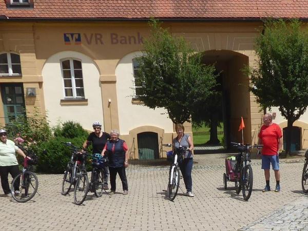 Das Gästeführerteam war mit der Nachfrage nach den Rad- und Wandertouren in der Hauptsaison zufrieden.
