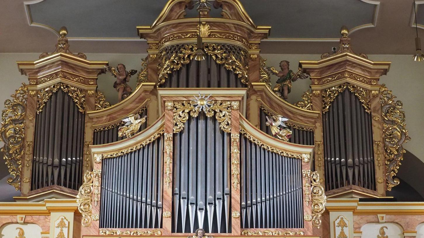 Die größte Orgel der Umgebung befindet sich in der Pegnitzer Bartholomäuskirche (Bild), die jüngste steht in Buchau.
