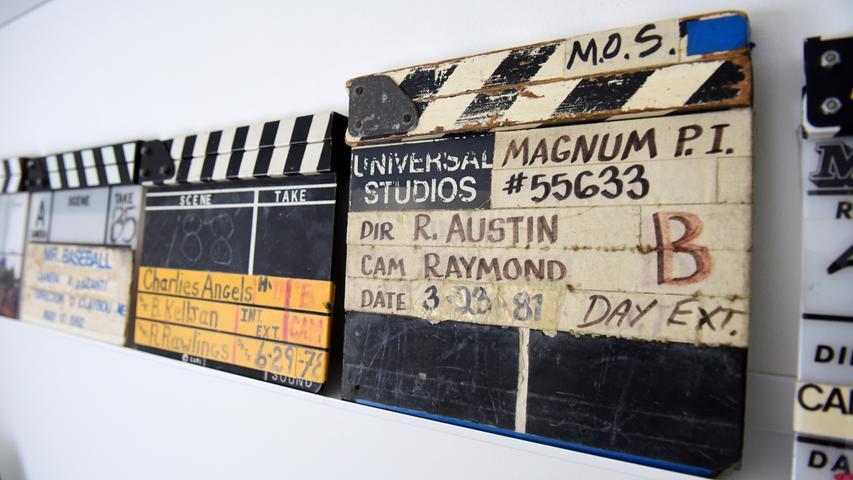 FOTO: Hans-Joachim Winckler DATUM: 17.02.21..MOTIV: Filmrequisiten-Sammler Jan Eric Hauber aus Zirndorf mit ...