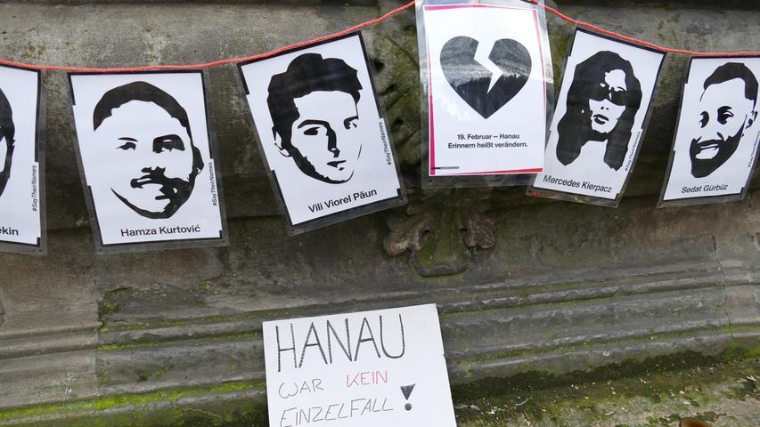 Mahnmal für die Opfer von Hanau: So zeigen Bambergerinnen und Bamberger ihre Solidarität