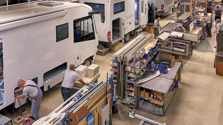 Ideales Gefährt für Reisen unter Kontaktbeschränkungen: In Schlüsselfeld werden die Wohnmobile gefertigt. Mehr als 75 Prozent in der europäischen Premiumklasse sind Fabrikate von drei Herstellern aus seinem Stadtgebiet, sagt Schlüsselfelds Bürgermeister Johannes Krapp.