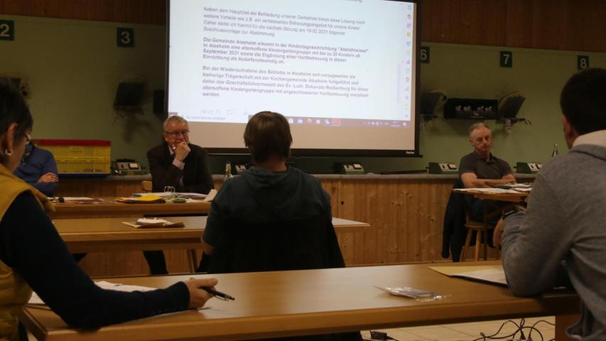 Alesheim: In kleinen Schritten zum Kindergartenkompromiss