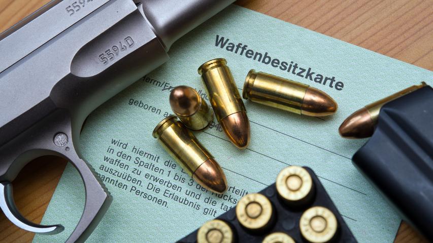 Frist endet im August: Besitz dieser Waffen ist demnächst verboten