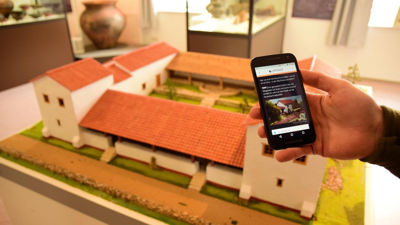 Die neue Museums-App kann künftig ein Ersatz für die klassische Führung sein. Konzipiert wurde sie vor allem für Kinder.