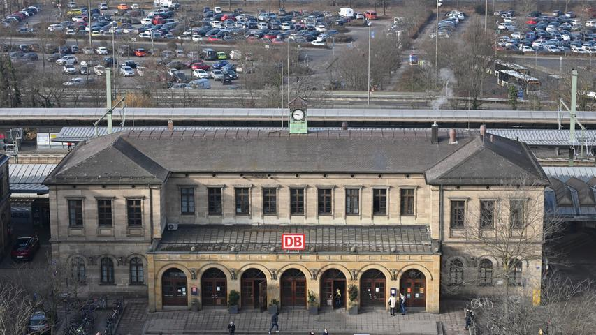 Der Erlanger Hauptbahnhof