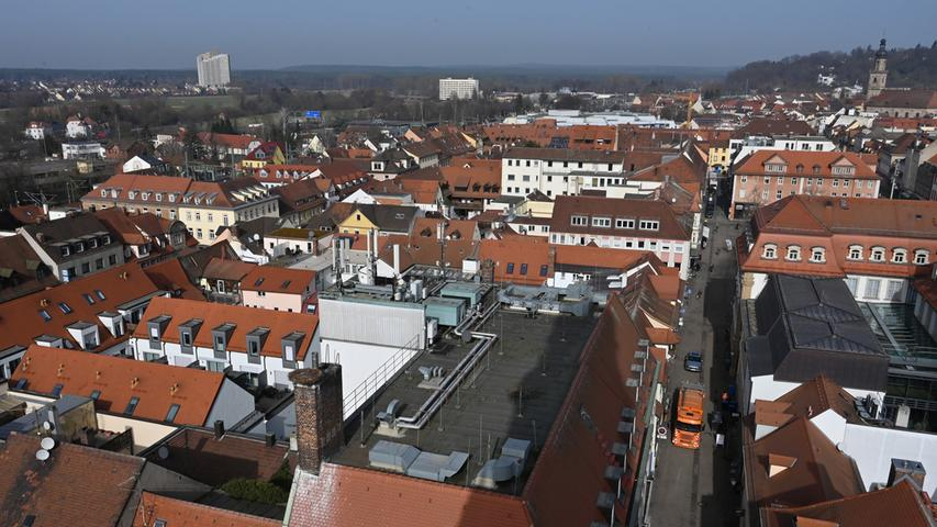 Dächer im Norden der Innenstadt