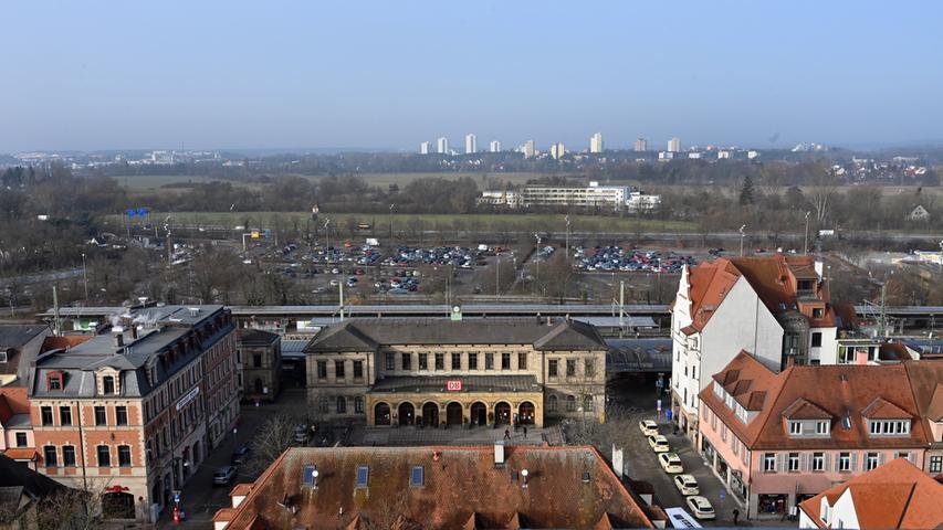 Der Erlanger Hauptbahnhof.