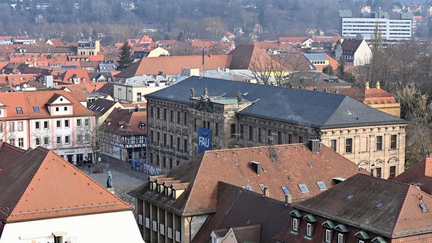 Verwaltungssitz der Friedrich-Alexander-Universität: Das Schloss.