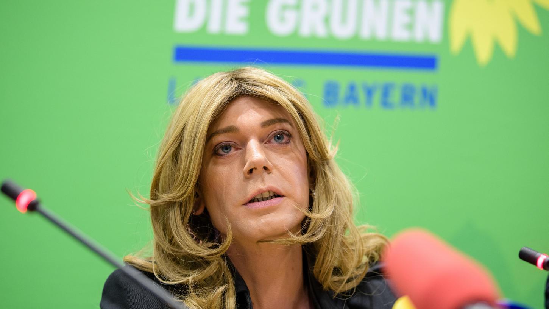 Tessa Ganserer gehört dem Landtag seit 2013 an und will nun nach Berlin wechseln.