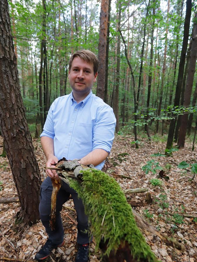 Johannes Wurm istForstbetriebsleiter der Bayerischen Staatsforsten in Nürnberg