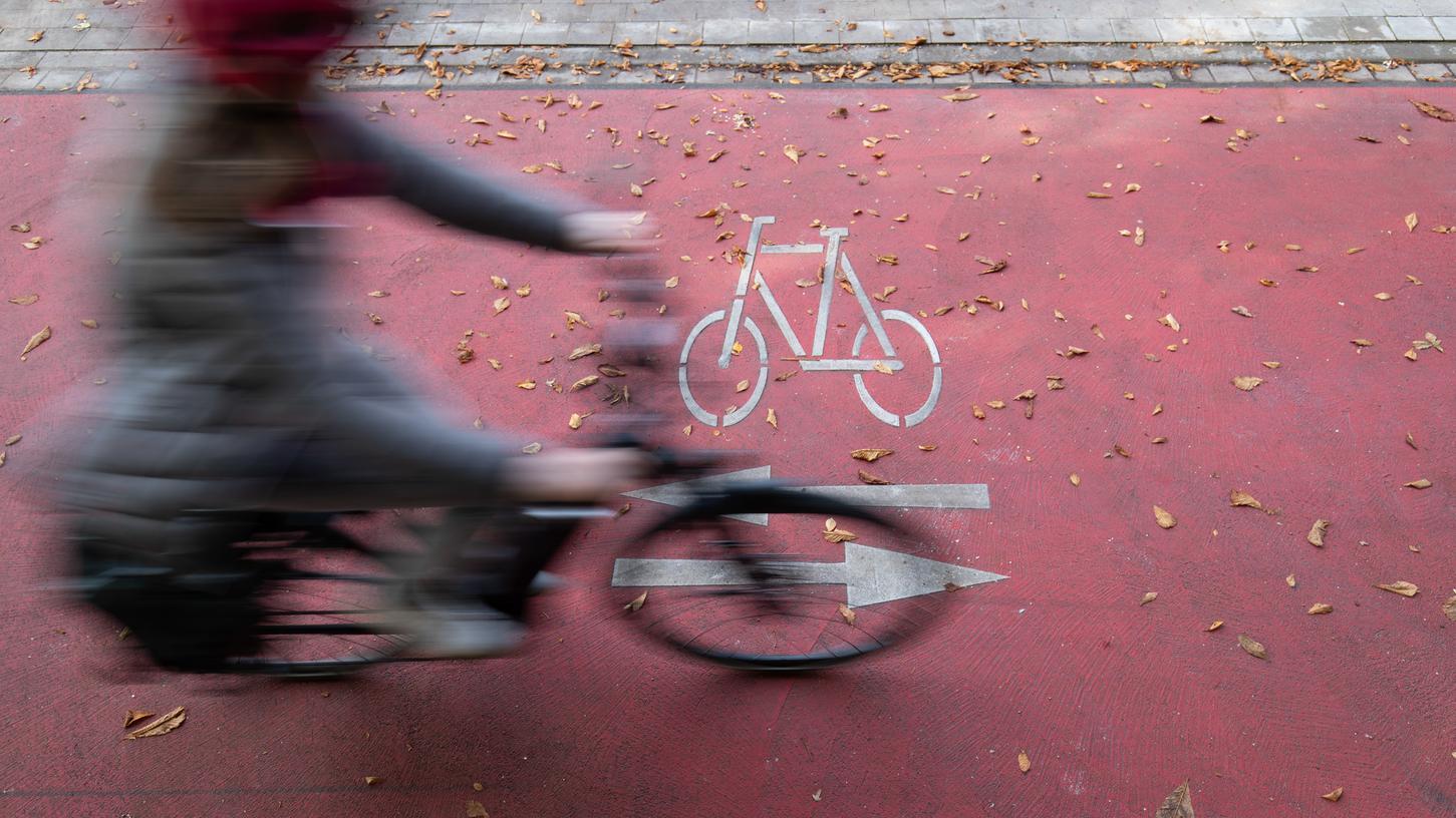 Mit fast zwei Millionen Euro fördert der Bund die Planungen für einen Radschnellweg im Großraum Nürnberg.