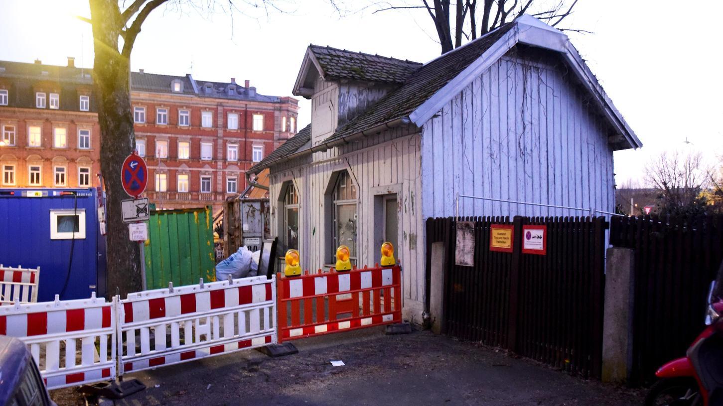 Früher für die Nahversorgung wichtig: Um diesen Pavillon in der Friedenstraße wird gerungen.