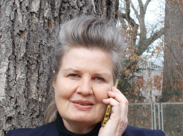 Literatur am Telefon: Lea Schmocker.