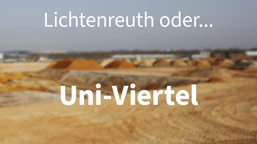 Neuer Name für Nürnbergs Stadtviertel Lichtenreuth: Die kreativsten Vorschläge