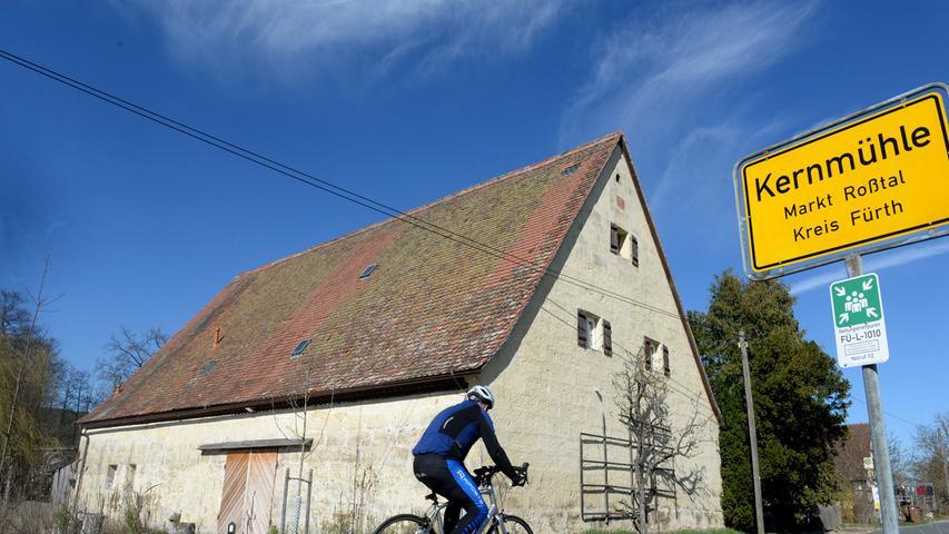 Die Kernmühle bei Roßtal wurde bei der Denkmalprämierung im Landkreis Fürth ausgezeichnet.