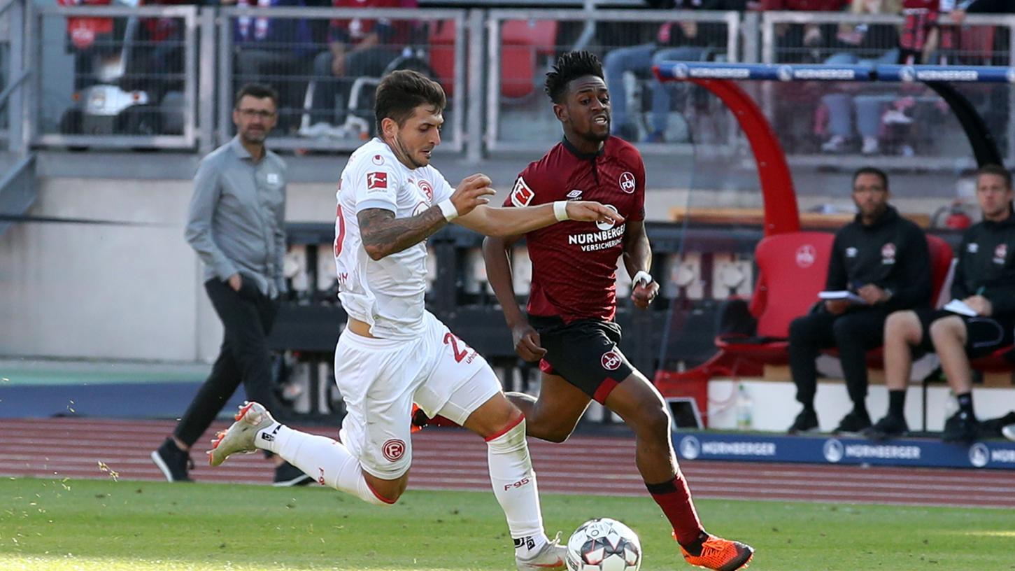 Mit Matthias Zimmermann (weiß, gegen Virgil Misidjan 2018) hatte der Club schon in der Vergangenheit seine Müh' und Not.