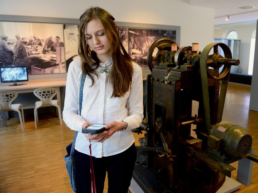 FOTO: Hans-Joachim Winckler DATUM: 6.2.2018..MOTIV: Das Fürther Stadtmuseum verfügt nun auch über einen Audioguide..