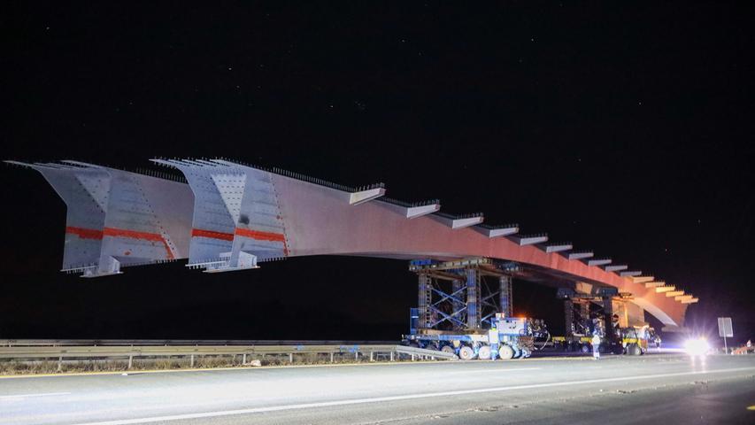 Neue Autobahn-Giganten: So liefen die Brückenarbeiten auf der A3