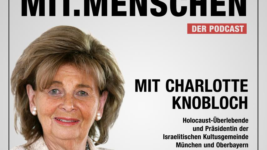 Mit.Menschen: IKG-Präsidentin Charlotte Knobloch, der Kampf gegen das Vergessen