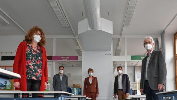 Anlage aus Heideck: Frische Luft im Klassenzimmer