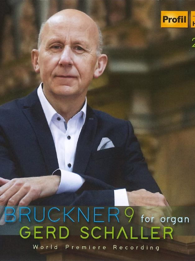 Foto: Edition Günter Hänssler, gesp. 2/2021..MOTIV: CD-Cover, Gerd Schaller, Bruckner 9 for Organ