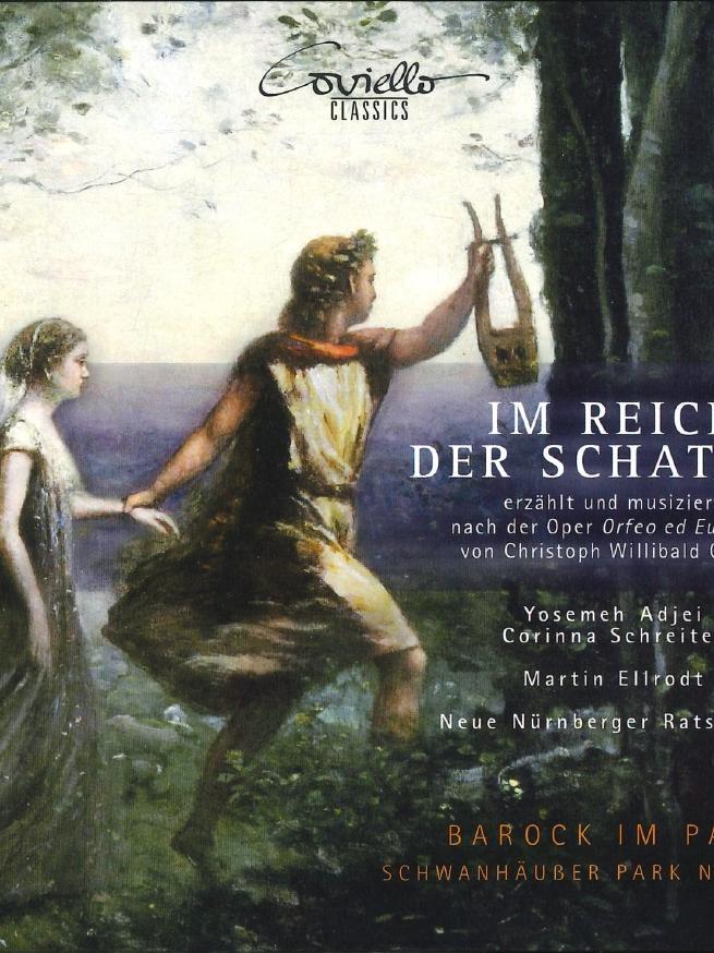 Foto: Coviello Classics, gesp. 2/2021..MOTIV: CD-Cover, Yosemeh Adjei / Corinna Schreiter / Martin Ellrodt, Im Reich der Schatten