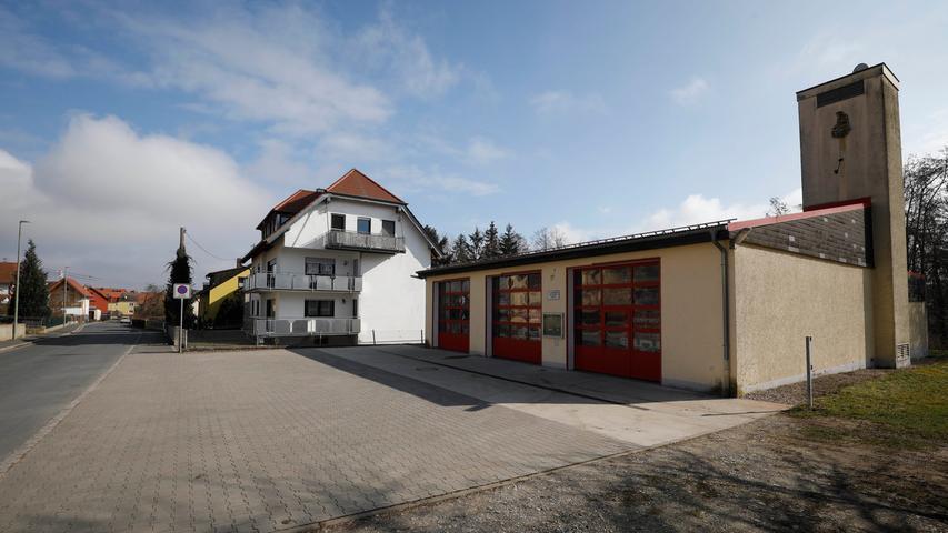 Hallerndorf , am 27.02.2021..Ressort: Lokales Foto: Stefan Hippel ..Ortskern, Ortskernserie,