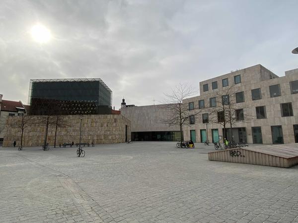 Die neue Heimat der jüdischen Gemeinde: Die Ohel-Jakob-Synagoge samt Museum und Gemeindezentrum in München.