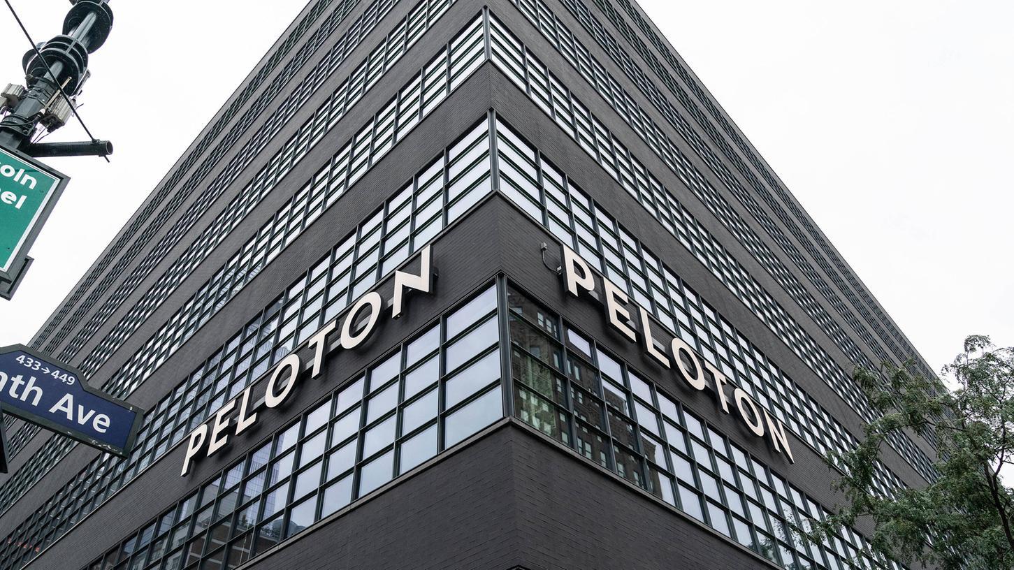 Blick auf das Peleton-Headquarter in Manhattan.
