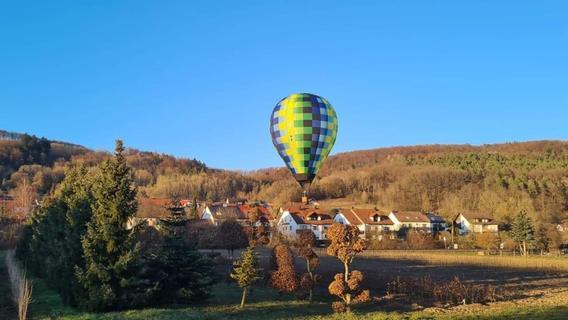 Heißluftballon landete mitten in Hohenstadt: Jetzt spricht der Pilot
