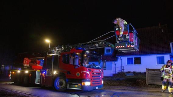 Großbissendorf: Feuer in einem Mehrfamilienhaus