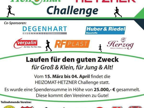 Alle Informationen auf einen Blick - der Flyer zur Challenge.