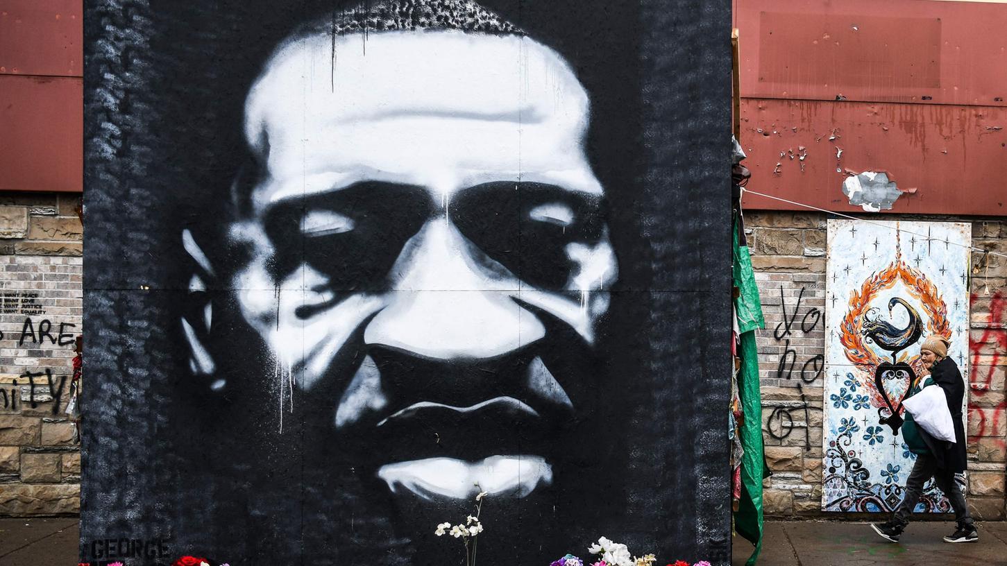 Der unbewaffnete Schwarze George Floyd ist 2020 bei einer Festnahme der Polizei getötet worden.