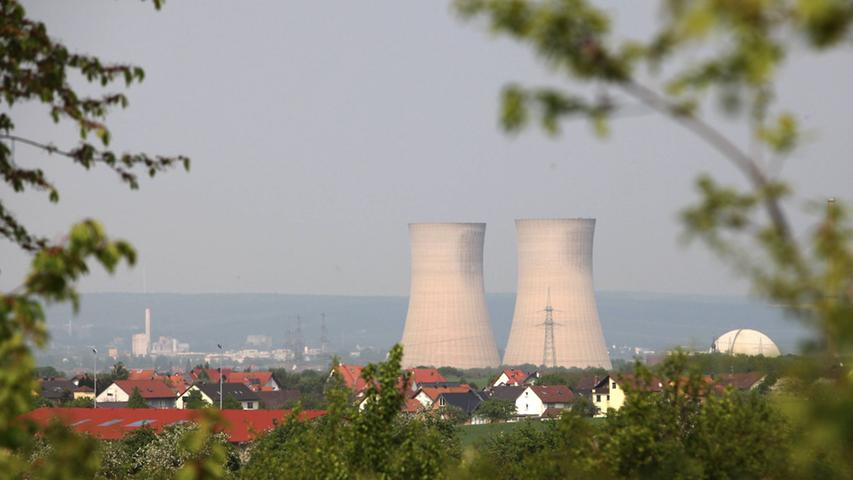 Von Gundremmingen bis Grafenrheinfeld: Bayerns Kraftwerke im Überblick