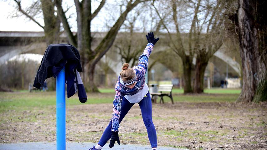 Es gibt kein schlechtes Wetter, wenn man sich richtig kleidet... Sport im Freien ist nichts für Warmduscher.  Foto: Hans-Joachim Winckler