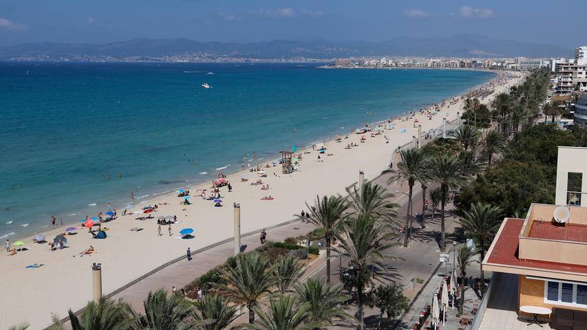 Palma de Mallorca wird von Eurowings und Ryanair