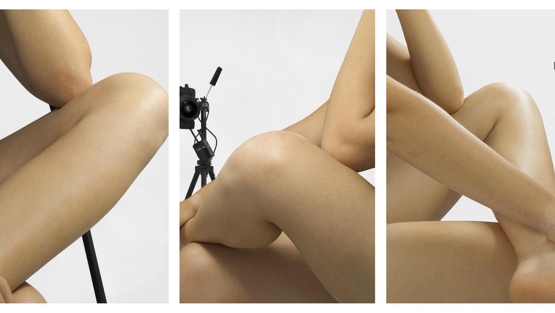 Körperteile werden zu Rätselfragen: Aktfotografien von Barbara Probst in der Kunsthalle Nürnberg.