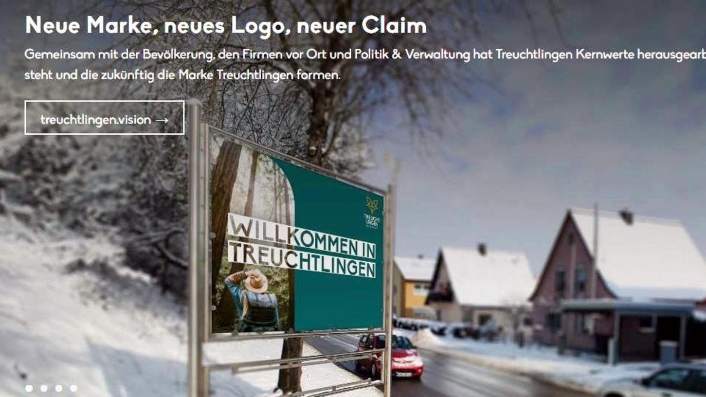 """Mit """"neuer Marke, neuem Logo, neuem Claim"""" sowie einem freundlichen """"Willkommen in Treuchtlingen"""" begrüßt die Altmühlstadt auf ihrer neuen Internetseite ihre Gäste."""
