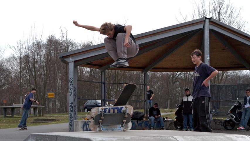 Ebenso wie der Skater-Park in der Altdorfer Straße.