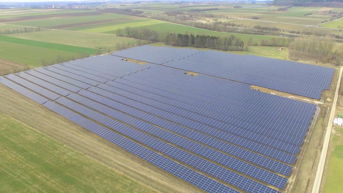 In Weidenwang ist ein neuer Solarpark in Betrieb gegangen.