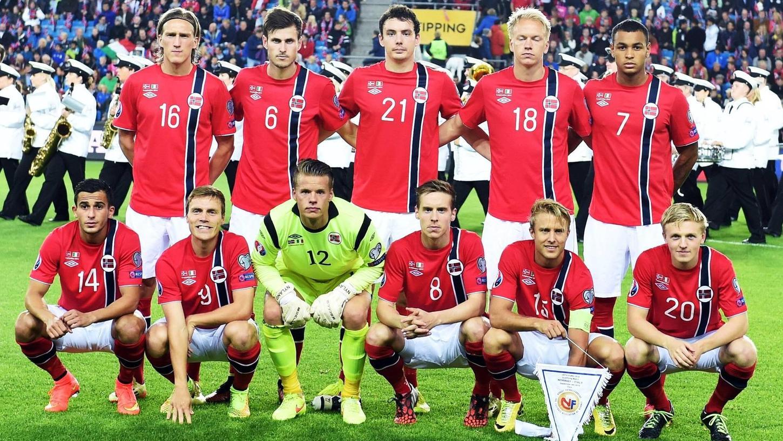 Vereint für Norwegen, im Derby am Sonntag Rivalen: Fürths Havard Nielsen (Nummer 18) und Nürnbergs Mats Möller Daehli (20).