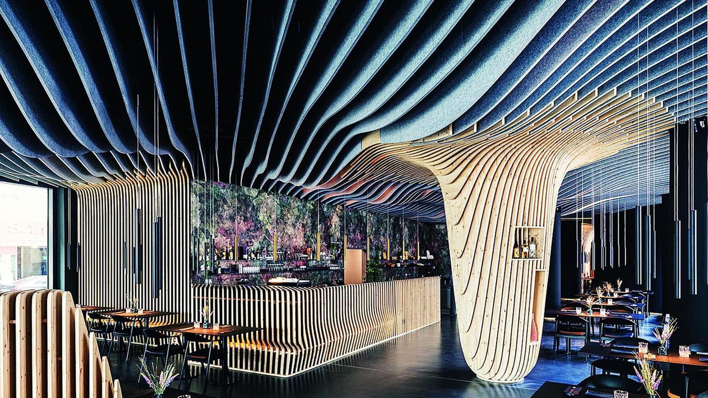 Spannendes und einmaliges Design im Nürnberger Fujiyama: Dafür ist es nun zum schönsten Restaurant in der gesamten Republik gewählt worden.