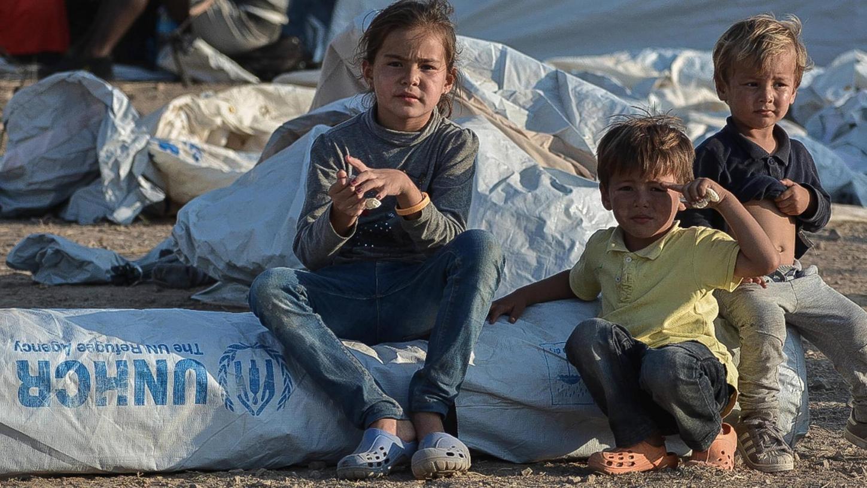 Viele Kinder im Flüchtlingslager Kara Tepe, dem Nachfolgelager des abgebrannten Lagers Moria, leiden psychisch enorm.