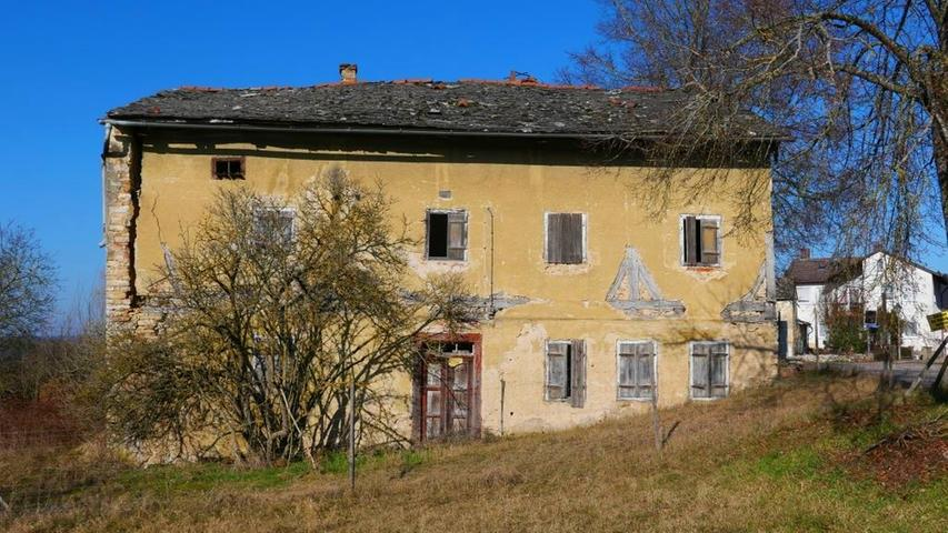 Der rund 450 Jahre alte Brauereigasthof