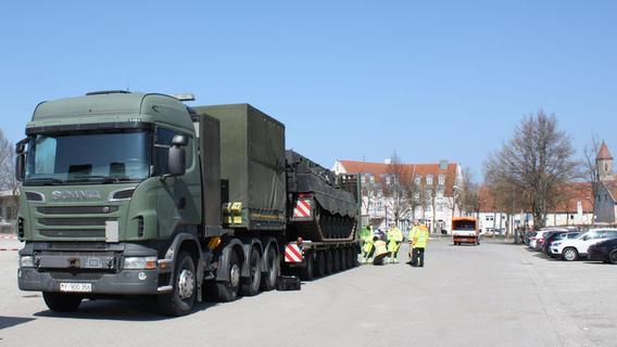 Das hat es mit den Panzern in Gunzenhausen auf sich