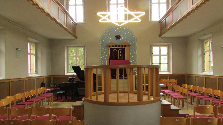 Eines von vielen Zeugnissen jüdischen Lebens in Franken: Die Synagoge von Ermreuth im Landkreis Forchheim.