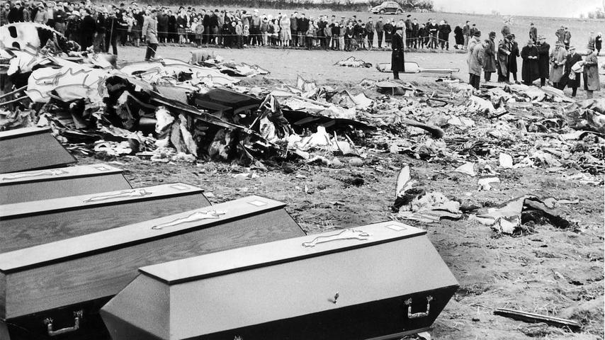Historischer Rückblick: Die Flugzeug-Katastrophe von Oberrüsselbach 1961